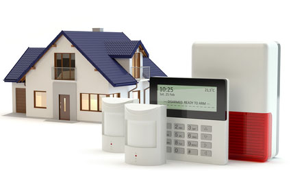 Alarm system and house
